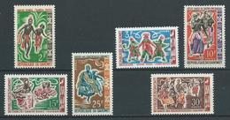 DAHOMEY 1964 . Série N°s 205 à 210 . Neufs ** (MNH) . - Dahomey (1899-1944)