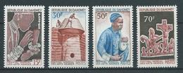 DAHOMEY 1966 . Série N°s 235 à 238 . Neufs ** (MNH) - Dahomey (1899-1944)