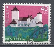 Switzerland 1976. Scott #B440 (U) Castle, Grandson * - Pro Patria
