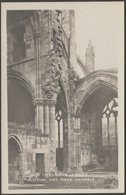 Pulpitum And Nave Chapels, Melrose Abbey, Roxburghshire, C.1930 - Ministry Of Works RP Postcard - Roxburghshire
