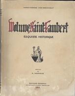 Woluwe-Saint-Lambert. Esquisse Historique. 1953 - Cultuur