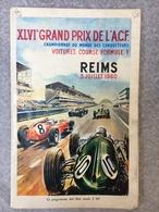 XLVIe Grand Prix De L'ACF Reims 3 Juillet 1960 Championnat Du Monde Des Conducteurs Voitures Course Formule 1 - Programmes