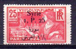 1924; Olympische Speiele In Paris, Mi-Nr. 257, Neu *, Lot 49796 - Syrien