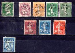 1924; Dauerserien Ex Mi-Nr. 231 - 262; Gemäss Scan, Neu * + Gest. Los 49797 - Syria