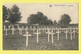 * Dinant (Namur - Namen - La Wallonie) * (Nels, Ern Thill) Citadelle, Le Cimetière, Kerkhof, Cemetery, Croix, Cross - Dinant