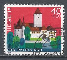 Switzerland 1979. Scott #B464 (U) Castle, Spiez * - Pro Patria
