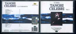 Tanghi Celebri - La Cumparsita - Mario Battaini -  Fisarmonica -1CD - Other