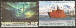 Australian Antarctic Territories  1991  SG 88-9  Aurora Australis Supply Ship  Fine Used - Australian Antarctic Territory (AAT)