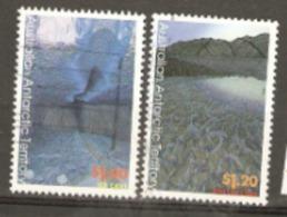 Australian Antarctic Territories  1996   SG 115,6  Paintings  Fine Used - Used Stamps