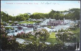 NEW YORK Central Park Terraces Gel. 1912 N. Teufen Switzerland - Central Park