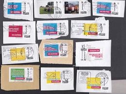 Bund - Lot Briefmarke Individuell - Gestempelt Used - Auf Papier - [7] República Federal