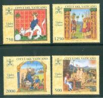 Vatican Vaticano Vatikanstadt 1997 Latin And Greek Classics, Aristotle, Ovid, Iliad Homer, Titus Livius  MNH(**) - Vatican