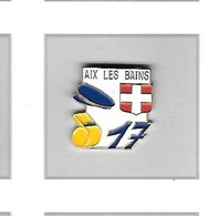 Pin's  Ville, LA  POSTE  AIX  LES  BAINS  ( 73 ) - Mail Services
