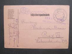 GANZSACHE Korrespondenzkarte Etappenpostamt Lublin - Prag 1916 /// D*27785 - 1850-1918 Imperium