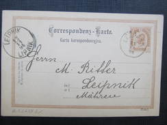 GANZSACHE Lezajsk - Lipnik 1894 ////  D*24753 - 1850-1918 Imperium