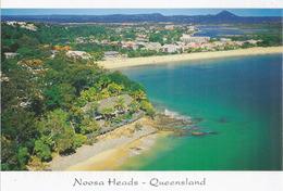Beautiful Noosa Heads (Qld), Carte Affranchie $ 3.00 Timbre,  Adressée Andorre, Avec Timbre á Date Arrivée - Gold Coast