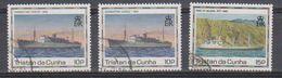 Tristan Da Cunha Ships 3v Used (39128) - Tristan Da Cunha