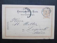 GANZSACHE Grzymalow - Leipnik 1897  ////  D*24750 - 1850-1918 Imperium