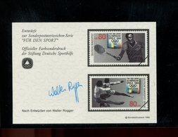 589772458 DUITSLAND 1988 FARBSONDERDRUCK  FUR DEN SPORT - Germany