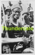 CPA KENIA KENYA RPPC REAL PHOTO POSTCARD AN OLD  KAVIRONDO - Kenya