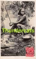 CPA KENIA KENYA RPPC REAL PHOTO POSTCARD THE BORAN TRIBE - Kenya