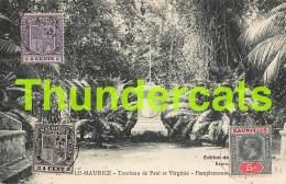 CPA MAURITIUS ILE MAURICE  TOMBEAU DE PAUL ET VIRGINIE PAMPLEMOUSSE - Mauritius