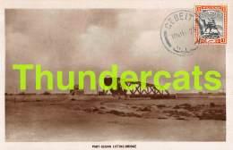 CPA SUDAN CARTE DE PHOTO RPPC REAL PHOTO POSTCARD PORT SUDAN LIFTING BRIDGE - Soudan