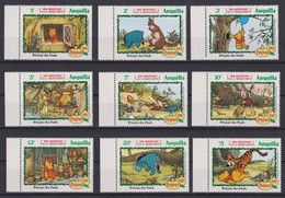 2074 Walt Disney Anguilla ( WINNIE The POOH - CHRISTMAS 1982 ) - Anguilla (1968-...)