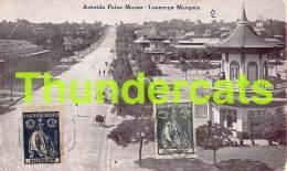 CPA MOCANBIQUE MOZAMBIQUE AVENIDA PAIVA MANSO LOURENCO MARQUES - Mozambique