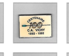 Pin's  Sport  Tir  à  L' Arc  100  CENTENAIRE  Du  C.A  VICHY  1892 - 1992 - Archery