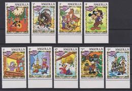 2075 Walt Disney Anguilla  ( DICKENS CHRISTMAS STORIES - CHRISTMAS 1983 ) - Anguilla (1968-...)
