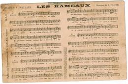 CPA Partirure, Les Rameaux, Par J Bertrand Et J Faure (pk48008) - Music And Musicians