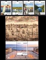 Portugal 2018 Tagus River Ships Horse Birds 4v + SS MNH - Bateaux