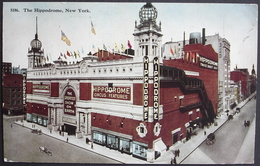 NEW YORK The Hippodrome Play House Sixth Avenue Gel. 1913 N. Teufen Switzerland - Places & Squares