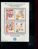 589780438 DUITSLAND 1979 FARBSONDERDRUCK  FUR DEN SPORT - Germany