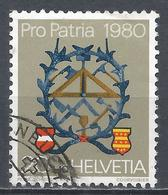Switzerland 1980. Scott #B471 (U) Masons And Carpenters Sign * - Pro Patria