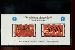 589783798 DUITSLAND 1981 FARBSONDERDRUCK  FUR DEN SPORT - Germany