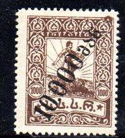 767 490 - GEORGIA 1923 , Unificato  N. 41  *.  Tipografica - Georgia