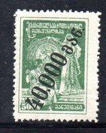 769 490 - GEORGIA 1923 , Unificato  N. 43  *.  Tipografica - Georgia