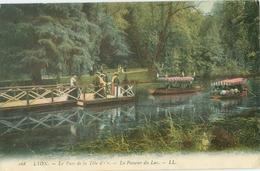 Lyon; Le Parc De La Tête D'Or. Le Passeur Du Lac - Voyagé. (LL.) - Autres