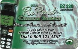 Belize - BTL - Cellular Service - Remote Mem. $20Bz, Used - Belize