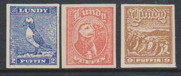 Lundy  3v Imperforated ** Mnh (39128) - Regionale Postdiensten