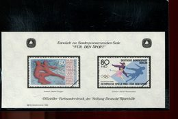 589787323 DUITSLAND 1988 FARBSONDERDRUCK  FUR DEN SPORT - Germany