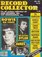 REVUE ANGLAISE RECORD COLLECTOR N° 137 De 1991   : BOWIE       ETC ........... - Objets Dérivés