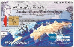 Mexico - Ladatel - American Express - E-001 - (Promotional) 08.1995, 5.000ex, Used - Mexico