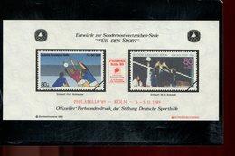 589788142 DUITSLAND 1989 FARBSONDERDRUCK  FUR DEN SPORT - Germany