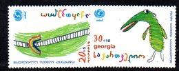 779 490 - GEORGIA 1997 , Unificato  N. 227/228  ***  MNH  UNICEF - Georgia