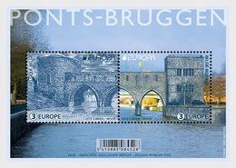 België / Belgium - Postfris / MNH - Sheet Europa, Bruggen 2018 - Unused Stamps
