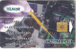Mexico - Telnor - Maquilando Electrónica - TN72 - 25$, 05.1998, Used - Mexico