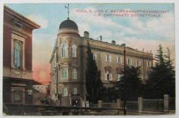 Croatia / Hrvatska: Pola (Pula), K. U. K. Bezirkshauptmannschaft - I.R. Capitanato Distrettuale  1917 - Kroatien